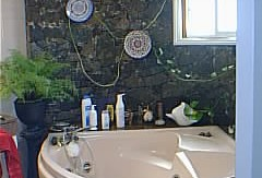 33.-Volcanic Stonewall-Bath room