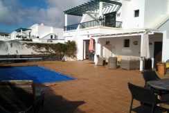 Luxury villa situated in central Playa Blanca